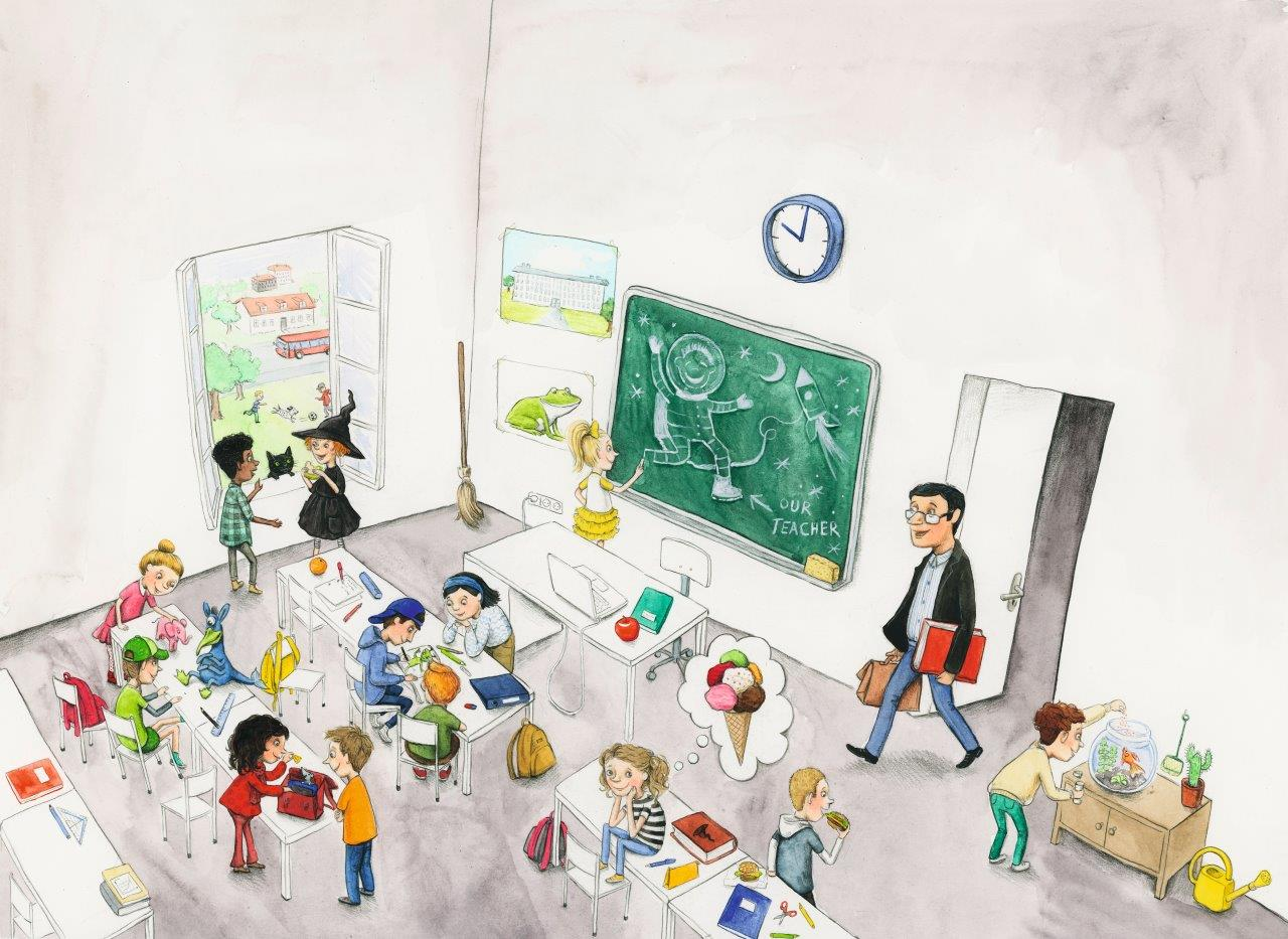 Klassenraum - Differenzierung
