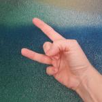 Binär zählen mit Fingern: Zehn