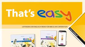 "Cover von leitfaden ""That's easy"", oberer Teil"