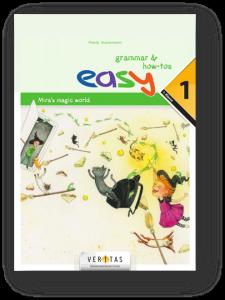 Das easy grammar & how-tos-Heft ist nach grammatikalischen Themen geordnet. Im 1. Jahr sind Erklärungen und grammatische Termini in Deutsch. Lehrwerksfiguren (Adam, Monster) machen Grammatik erlebbar.