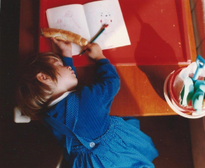 Lili Richter als Kind