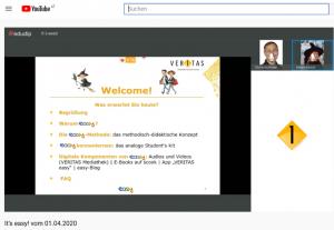 easy-Webinar-Aufzeichnung auf YouTube