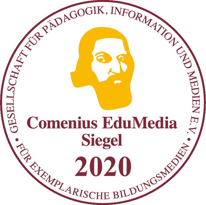 Comenius-Siegel für die neue easy-App. Kostenlos in den App-Stores