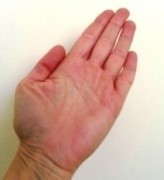 Konzentrationsübungen Hand als Teller