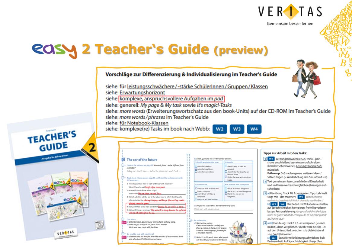 easy2 Teacher's Guide, Folie 1
