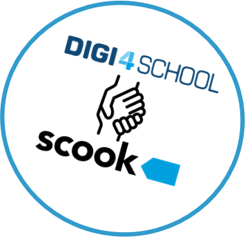 Digitales Klassenzimmer und scook